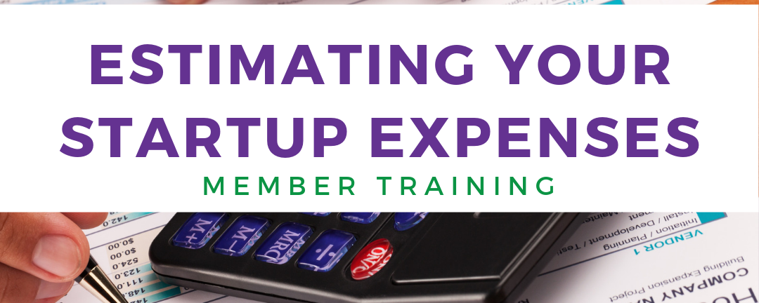 Estimating Your Startup Expenses